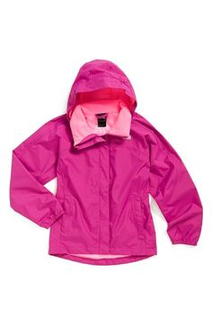 The North Face 'Resolve' Reflective Waterproof Jacket (Big Girls) available at #Nordstrom