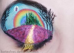 17 Over-The-Top Works Of Eye Shadow Art That Will Leave You Speechless - Minq.com