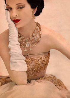 Christian Dior, 1951 by Karen Radkai.