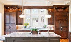 Hardwood Kitchen Cainets