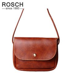 47dac911ce2 2017 New Fashion Women Messenger bags Vintage Crossbody Bag for Women High  Quality Shoulder Flap Small Pu Leather Handbag Female-in Crossbody Bags from  ...