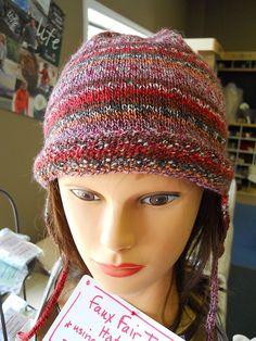 Faux Fair Isle Sock Hat