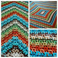 Kaleidoscope Afghan Pattern | Petals to PicotsPetals to Picots