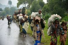 Congo Refugees in Rwanda and everywhere in other nations. Feel blessed.