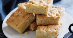 Blondies by name and sweet by nature, these golden brownies dotted with buttery macadamias are the perfect indulgence.