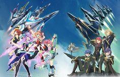 Revelados diseños de personajes del Anime Macross Delta.