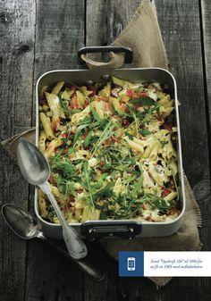 Pasta med friske grønsager