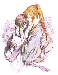 Image about cute in Rurouni Kenshin. Rurouni Kenshin, Kenshin Le Vagabond, Era Meiji, Manga Anime, Anime Art, Samurai Anime, Ninja Art, Tomoe, Anime Life