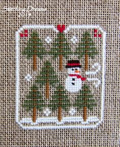 Stitching Dreams: Favorite Freebie Finishes--Christmas Edition