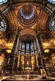 St.Nicolaaskerk (church) Amsterdam Amsterdam, Netherlands #architecture #visitholland