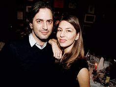 Marc Jacobs and his sartorial muse Sofia Coppola  (2006)