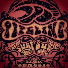 A cool retro design from Pipeline Clothes & Gear to share from the archives.
