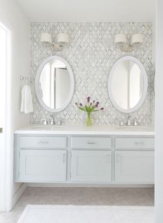 {Master Bathroom Vanity Makeover via Centsational Girl}
