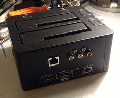 Installing a Raspberry Pi inside a dual SATA drive dock