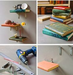 Amazing DIY Book Shelves