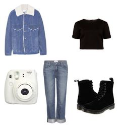 """Untitled #35"" by khay17 ❤ liked on Polyvore featuring Steve J & Yoni P, Ted Baker, Paige Denim and Dr. Martens"