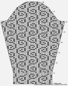 Beautiful sirloin pullover !!!. Discussion on LiveInternet - Russian Online Diary Service Irish Crochet Patterns, Crochet Cardigan Pattern, Crochet Diagram, Crochet Blouse, Filet Crochet, Crochet Lace, Thread Crochet, Crochet Stitches, Crochet Woman