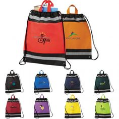 Customize your brand name over Polypropylene Drawstring Cinch Backpacks and get your items within 24 hours of your order! #promotionalproduct #giveaways #freerush