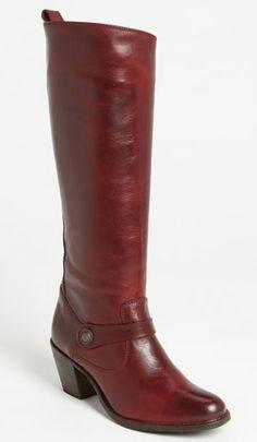 Frye 'Jackie Button Strap' Boot