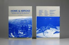 Home & Abroad Catalogue by MusaWorkLab , via Behance