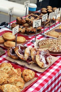 The Peachtree Farmers Market in #Atlanta is a great stop to pick up freshly baked sweets, including some of my favorites from the Little Tart Bakeshop!