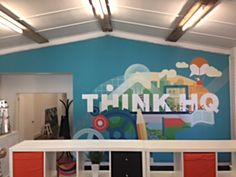 Office Revamp Custom Wallpaper - PICKAWALL ThinkHQ Vic
