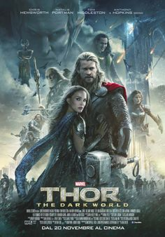 Thor: The Dark World poster.