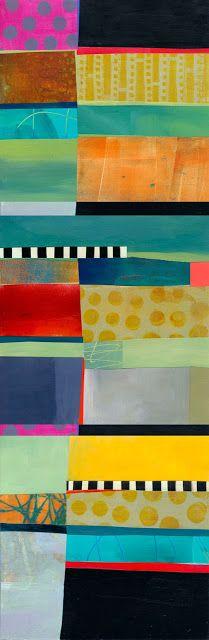 Grid Stripe Assemblage #1