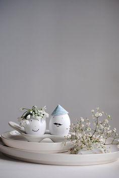 Drei hübsche DIY-Ideen für Ostereier von Petit Sourire | SoLebIch.de #interior #einrichtung #einrichtungsideen #deko #dekoration #decoration #living #osterdeko  Foto: Petit Sourire