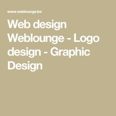 Web design Weblounge - Logo design - Graphic Design