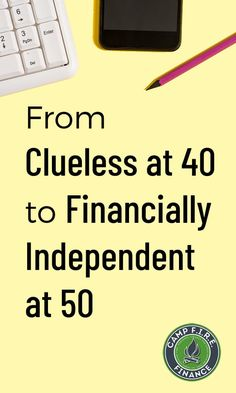 Can you go from clueless at 40 to financially independent in less than 10 years? And, we'll reach financial independence as two teachers, not as doctors or investment bankers. Financial Success, Financial Planning, Money Tips, Money Saving Tips, Budgeting Finances, Budgeting Tips, Accounting And Finance, Finance Blog, Early Retirement
