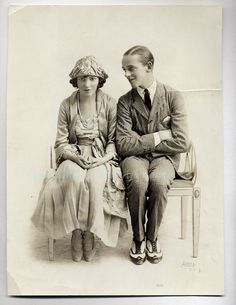 Adele & Fred Astaire 1919