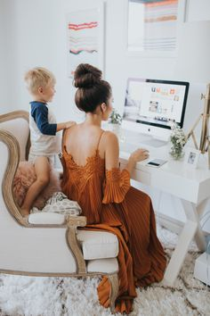 Get a peek inside the fashion bloggers home: http://www.stylemepretty.com/living/2016/11/22/peek-inside-the-dream-closet-turned-office-of-a-fashion-blogger/