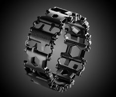 "Leatherman's new baby Tread, a multi-tool worn on the wrist, is so brand new it hasn't quite popped out of the oven yet. But before you start leaving interminably clever, ""This site should be called Dude You Can't Have That"" remarks in the Comments se"