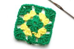 Como hacer una manta de crochet por partes