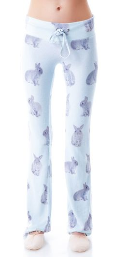 Wildfox Couture Snow Buns Track Bottoms   Dolls Kill