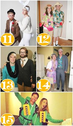 25 Quick Costume Ideas for Couples   Couple costume ideas Costumes and Holidays  sc 1 st  Pinterest & 25 Quick Costume Ideas for Couples   Couple costume ideas Costumes ...