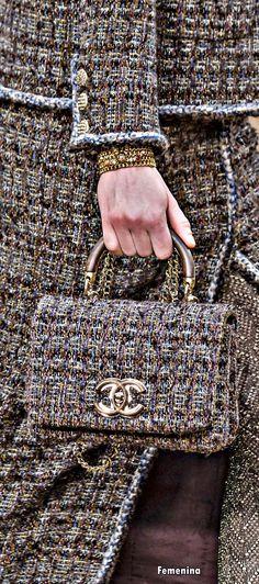 Chanel Fall / Winter 2018 - Bag #chanel #bag