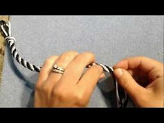 This video demonstrates how to finish Kumihimo projects!