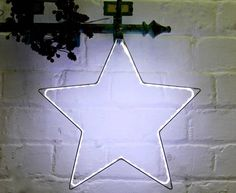 led hanging star light by the forest & co | notonthehighstreet.com