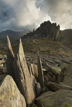Castell y Gwynt (Castle of the Wind), Snowdonia, Wales by Alex37 on DeviantArt