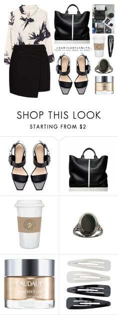 """""""Life 09.27"""" by yexyka ❤ liked on Polyvore featuring Zara, Lelativement, Reed Krakoff, Caudalíe, Forever 21 and MANGO"""