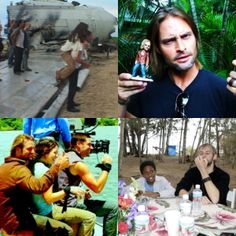 Lost cast I love Josh Holloway here
