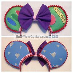 Buzz Lightyear  Handmade Mouse Ears  Mickey Ears by WeveGotEars #WeveGotEars #ToyStory #BuzzLightyear #Disneyears #Mickeyears #mouseears #toinfinityandbeyond