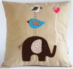 Natural Cotton Children's Pillow Cover/In by dagmarsdesigns, $37.00