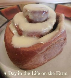 A Day in the Life on the Farm: Chocolate Cinnamon Rolls for #BreadBakers