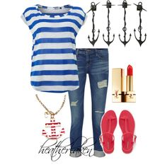 """""""Nautical"""" by heather-laken-michael on Polyvore"""
