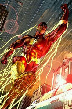 Comixz, Comics Art - The Flash, Flash Central, Dc Comics Comic Book Heroes, Marvel Heroes, Comic Books Art, Comic Art, Book Art, Flash Tv, The Flash, Flash Comics, Arte Dc Comics