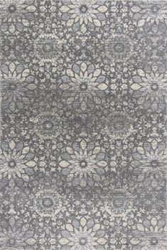 KAS Rugs REL710589X13 Relic Collection Charcoal Finish