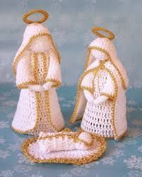 Crochet christmas nativity holidays 39 trendy Ideas Crochet christmas nativity holidays 39 trendy Ideas Always wanted to discover ways to knit, but unsure the plac. Crochet Angels, Crochet Stars, Thread Crochet, Crochet Motif, Diy Crochet, Crochet Crafts, Crochet Dolls, Crochet Flowers, Crochet Projects